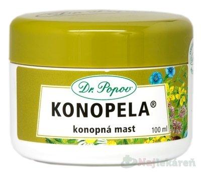 DR. POPOV KONOPELA konopná masť 100ml - Dr.Popov Konopela konopná masť 100 ml