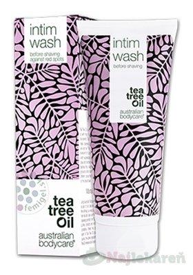 ABC Tea Tree Oil INTIM WASH - Intímny mycí gél 200ml - Abc Tea Tree Oil Intim Wash Intímny mycí gél 200 ml