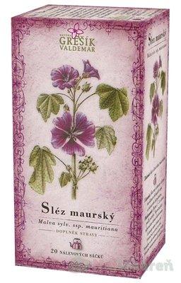 GREŠÍK SLEZ MAURSKÝ, 20x1 g - Grešík Čaj Slez maurský 20 x 1 g