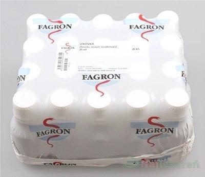 Liekovka 25 ml hnedá, skrutkov. uzáver - FAGRON