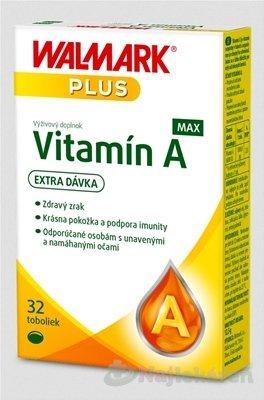 WALMARK Vitamín A MAX (inov. obal 2019)