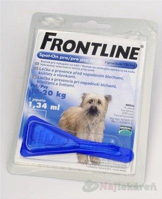 FRONTLINE Spot-on pre psy M 1,34ml