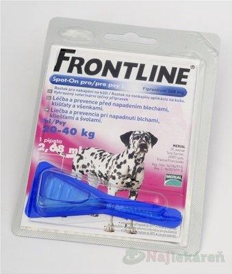 FRONTLINE Spot-on pre psy L