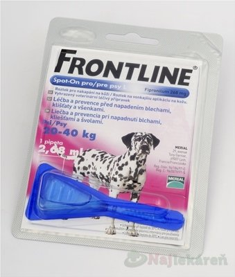Frontline spot on pre psy L 20- 40 kg