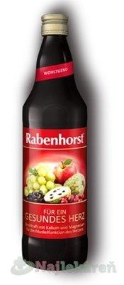 Rabenhorst Červené hrozno šťava 750 ml