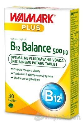 Walmark B12 Balance 500 µg tbl 30