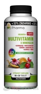 Bio Pharma Multivit. S MINERALMI 120 tabliet