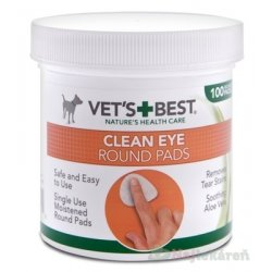 VET´S BEST CLEAN EYE ROUND PADS