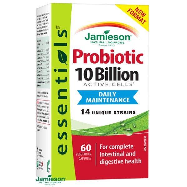 Jamieson Probiotic 10 miliárd 60 cps