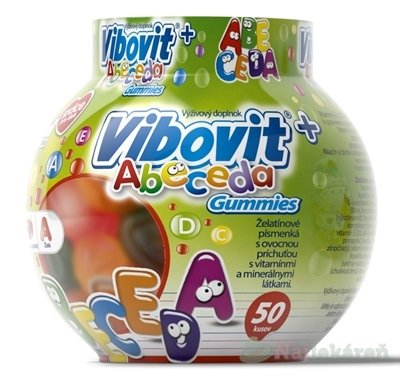 VIBOVIT+ ABECEDA Gummies (inov.2018)