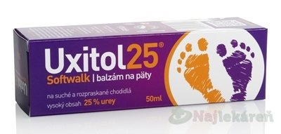 Uxitol 25 Softwalk balzám na paty 50 ml