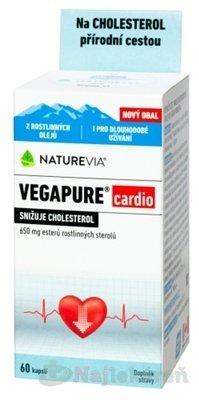 SWISS NATUREVIA VEGAPURE cardio 650 mg, 60ks