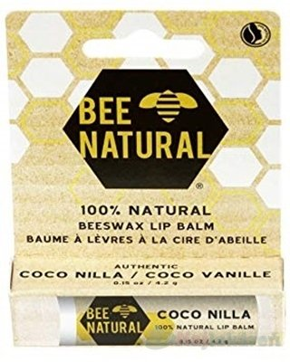 Bee Natural balzam na pery Kokos a Vanilka 4,2 g
