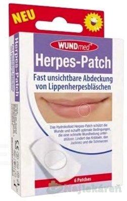 Wundmed Náplasť na herpes 6 ks - WUNDmed Náplast na opary 6ks