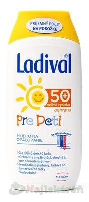 Ladival PRE DETI SPF 50+ mlieko 200ml