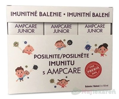 SkinMedical Ampcare Junior Imunita 3 x 150 ml