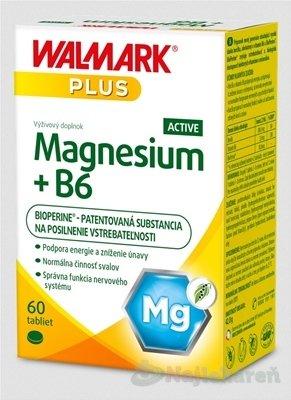 WALMARK Magnesium+B6 ACTIVE - Walmark Magnesium + B6 Aktiv 60 tabliet