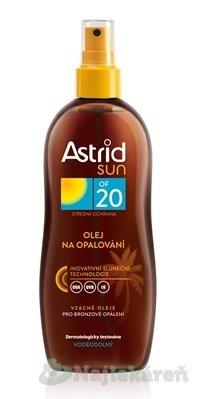 Astrid sun Olej na opaľovanie OF 20