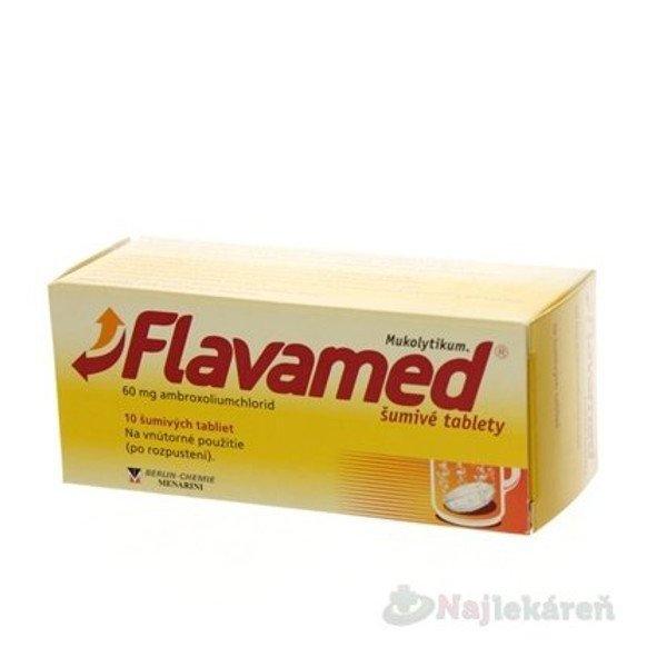 Flavamed šumivé tablety, 10tbl