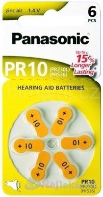 Panasonic baterie do naslouchadel 6ks PR10(PR230L)