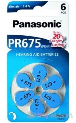 Panasonic baterie do naslouchadel 6ks PR675(PR44)