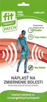 Fit Therapy Patch Krk náplasť 3 ks