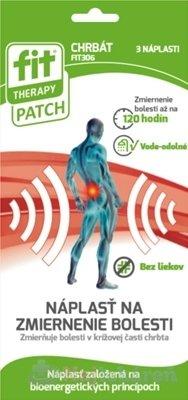 Fit Therapy Patch Chrbát náplasť 3 ks