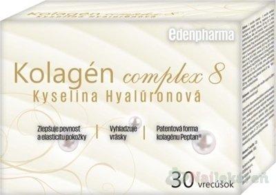 EDENPharma Kolagén complex 8 Kyselina Hyalurónová - Eden Pharma Kolagén complex 8 Kyselina Hyalurónová 30 vrecúšek