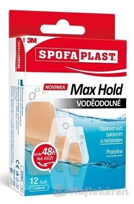 3M SPOFAPLAST č.191 Náplasti VODEODOLNÉ Max Hold - 3M Spofaplast 191 Max Hold Voděodolné 12 ks