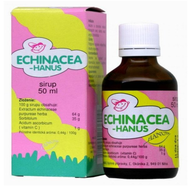 Echinacea Hanus detský sirup 50 ml