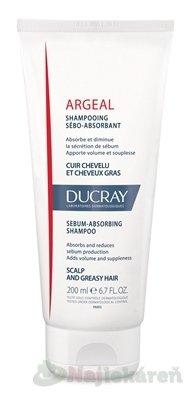 DUCRAY ARGEAL šampón absorbujúci maz 200ml - Ducray Argeal Šampon absorbující maz 200 ml