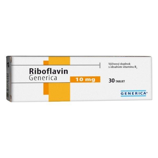 Generica Riboflavin 30 x 10 mg