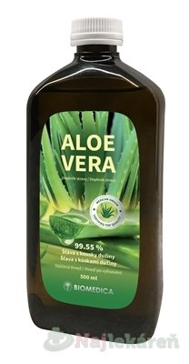 BIOMEDICA ALOE VERA šťava 99,55% - Biomedica Aloe Vera 99,5% 500 ml