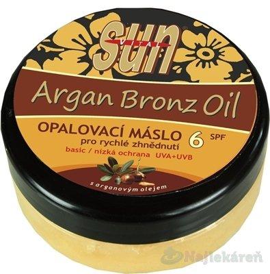 SUN ARGAN BRONZ OIL opaľovacie MASLO SPF 6 200ml - SunVital Argan Bronz Oil opalovacie maslo SPF6 200 ml