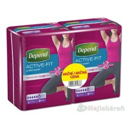 DEPEND ACTIVE-FIT L pre ženy DUOPACK