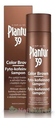 Plantur 39 Color Brown Fyto-kofeínový šampón 250ml