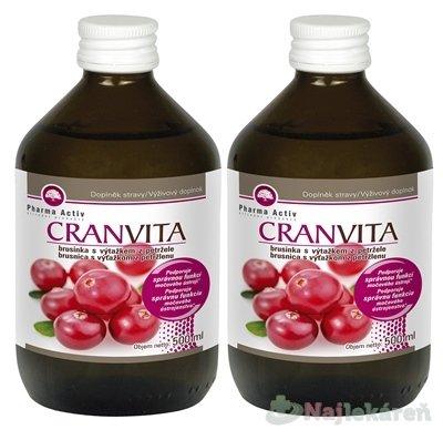 Pharma Activ CRANVITA AKCIA - Pharma Activ Cranvita 1 1 500 ml