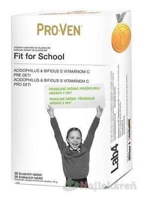 PRO-VEN Fit for School - Pro-Ven Fit for School žuvacie tablety 30 ks