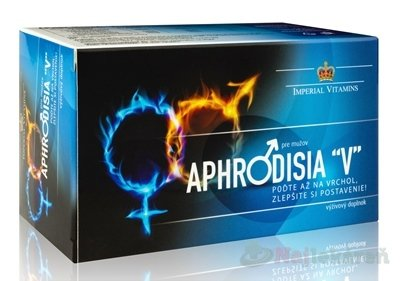 "APHRODISIA ""V"" pre mužov - Aphrodisia V pre mužov 60ks"