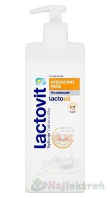 Lactovit Lactooil telové mlieko 400 ml