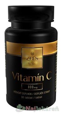 ZEEN by Roal Vitamín C 800 mg - Zeen by Roal Vitamín C 800 mg tbl 30 ks