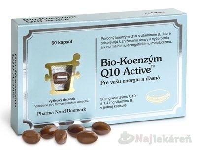 Bio-Koenzým Q10 Active - Pharma Nord Bio-Koenzým Q10 Active 60 kapsúl