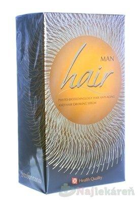 Hair Man - Herb Pharma Hair Man fyto-biotechnologické serum na omladenie a podporu rastu vlasov pre mužov 125 ml
