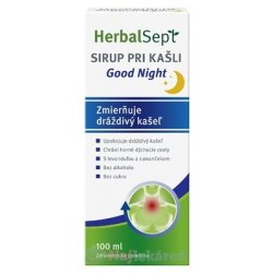 HerbalSept SIRUP PRI KAŠLI Good Night