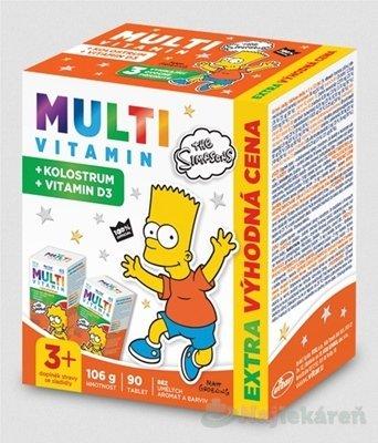 Revital MULTIVITAMÍN + KOLOSTRUM The Simpsons - The Simpsons Multivitamin + kolostrum tbl.90
