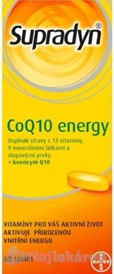 Supradyn CoQ10 Energy, 60 ks - Supradyn CO Q10 Energy 60 tabliet