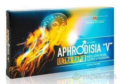 "APHRODISIA ""V"" Ultra Rapid pre mužov - Aphrodisia V ltra Rapid pre mužov 10tbl"