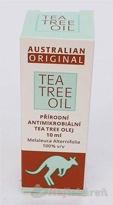 AUSTRALIAN ORIGINAL TEA TREE OIL 100% 10ml - Australian Bodycare Tea Tree Oil roztok 10 ml