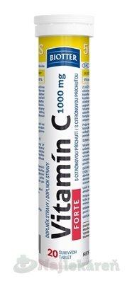 Biotter Vitamín C FORTE 1000 mg