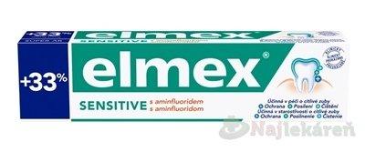 ELMEX SENSITIVE ZUBNÁ PASTA 100 ml - Elmex Sensitive zubná pasta pre citlivé zuby 75 ml